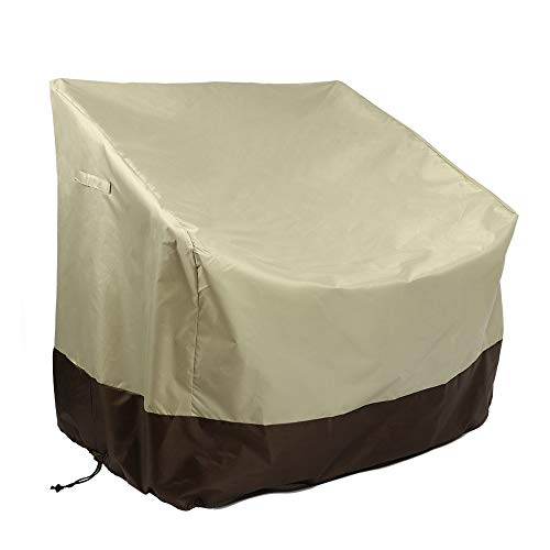 Patio Chair Covers, Lounge Deep Seat Cover, Heavy Duty and Weather Resistant Outdoor Lawn Patio Furniture Covers,Waterproof and Anti-Fade Protective Furniture Cover with Drawstring LWH 35x28x35in