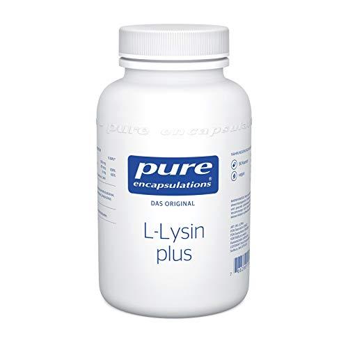 Pure Encapsulations - L-Lysin plus - Essenzielle Aminosäure mit Selen und Zink für ein Starkes Immunsystem - 90 vegane Kapseln
