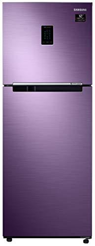Samsung 324 L 2 Star Inverter Frost-Free Double Door Refrigerator (RT34T4542RU/HL, Luxe Purple, Convertible)