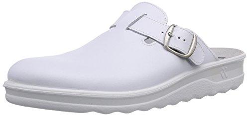 Romika Herren Village Pantoffeln, Weiß (weiß 000), 46 EU
