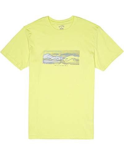 BILLABONG Herren T-Shirt Inverse Tee SS, Neo Lemon, L, S1SS28