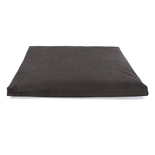 Lotuscrafts Tappeto Meditazione Zabuton Deluxe - Cuscino da Meditazione di Supporto - Rivestimento in Cotone Lavabile - Materassino Meditazione - Materasso Futon Meditazione - Certificato GOTS