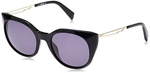Just Cavalli Damen JC842S Sonnenbrille, Schwarz (Shiny Black/Smoke), 53