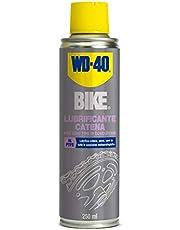 WD-40 Bike Lubrificante catena bici spray al PTFE, 250 ml