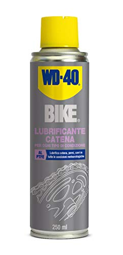 WD-40 Bike Lubrificante catena bici spray al PTFE, 250 ml