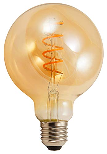 McShine Bombilla de filamento LED, 4 W, E27, 4 W