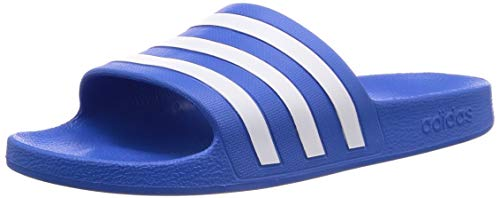 Adidas Adilette Aqua Zapatos de playa y piscina Unisex adulto, Multicolor (Multicolor 000), 40 1/2 EU (7 UK)