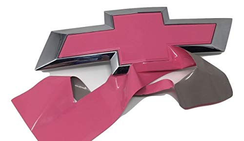 pink chevy emblem replacement - 7