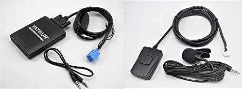 Yatour YT-M06-REN8-BT Digitaler Musikadapter für USB, SD, AUX, mit Bluetooth Freisprechenrichtung, für Renault Autoradio