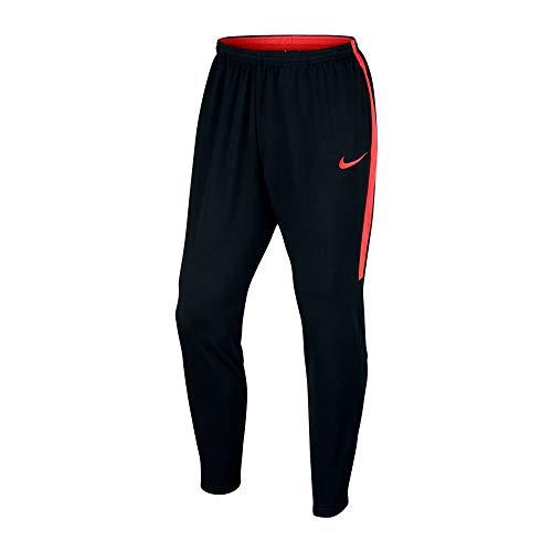 Nike M NK Dry acdmy kpz, Pantalon Homme L Nero/Nero/Lt Crimson/Lt Crimson