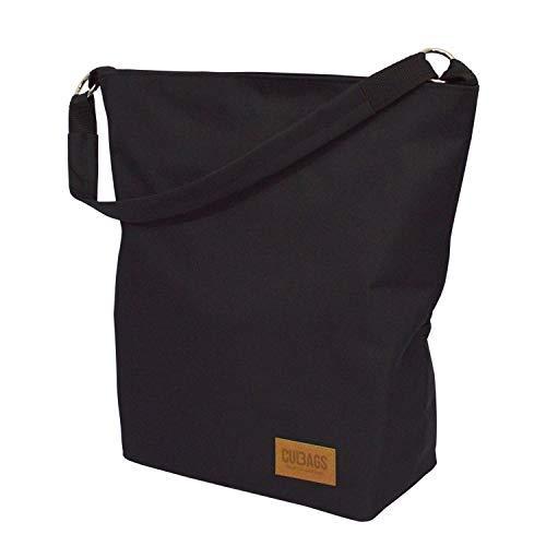C-BAGS SHOPPER BAG CLASSIC Gepäckträger Fahrradtasche Tasche (black)