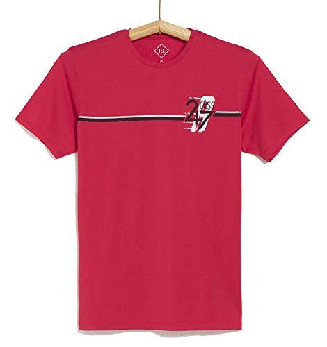 TEX - Camiseta Deportiva para Hombre