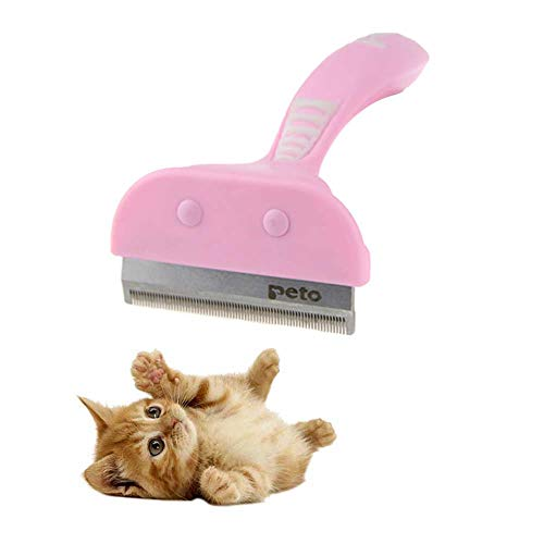 Pet Dog Cat Hair Removal Brush Comb Pet Grooming Tools Hair Shedding Trimmer Comb for Cats Dogs 16X4.5/7.5cm,C,16X7.5cm
