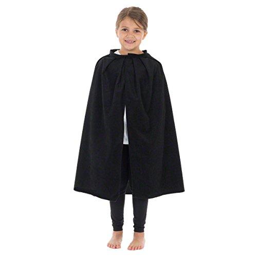 Charlie Crow Disfraz de capa o capa para niños   Once colores   Talla única 3 – 12 años
