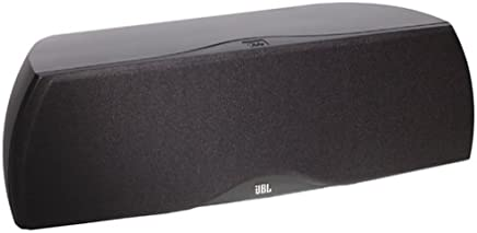 JBL N-Center 2-Way Center-Channel Speaker (Single Speaker, Dark