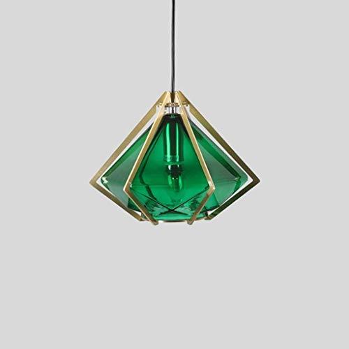 SKSNB Industrial Vintage Cage Lámpara Colgante Arte Moderno Pirámide Diamante Birdcage Araña Rústico Retro Loft Pirámide Lámpara de Cuerda de cáñamo Estilo Café Comedor Pantalla de Techo