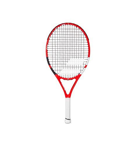 Babolat Junior Pure Strike Junior 24 - Raqueta (220 g), color rojo y blanco