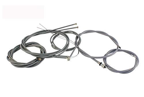 Juego de cables Bowden (7 piezas) para velocímetro, cable de acelerador, cable...
