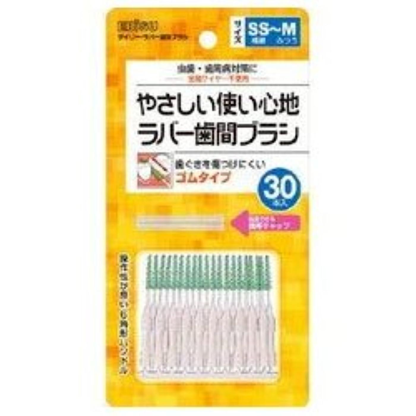 みなす広告主ジェスチャー【エビス】デイリーラバー 歯間ブラシ SS~M 30本入 ×5個セット