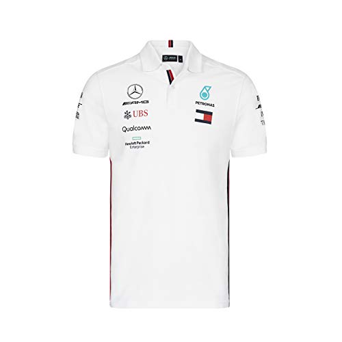 Team Polo Homme McLaren Official Formula 1 Merchandise 2020 Collection Taille XS /à XXL Blanc
