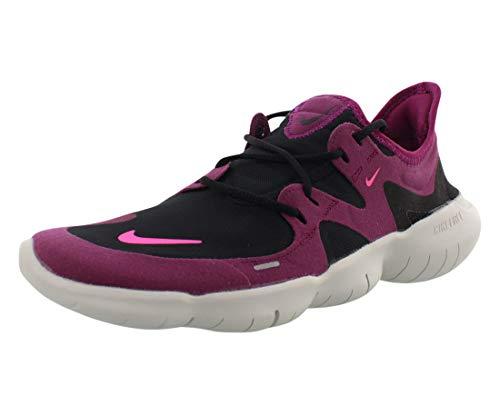 Nike Damen WMNS Free Rn 5.0 Laufschuhe, Black/Pink Blast/True Berry, 41 EU
