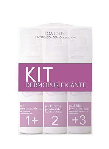 Idav Care - Kit Home Dermopurificante Piel grasa/Poro Dilatado, en 3 Pasos