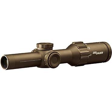 Sig Sauer TANGO6T Scope, 1-6x24mm, 30mm, SFP, FDE SOT61233