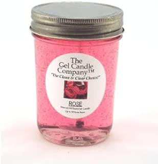 Rose 90 Hour Gel Candle Classic Jar