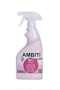 Ambiti Rinse Spray 500 ml. aditivo para desinfectar la taza del Wc