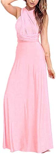 Bright pink bridesmaid dresses _image0
