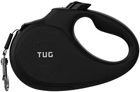TUG 360 Tangle Free Heavy Duty Retractable Dog Leash for Up to 55 lb Dogs 16 ft Strong Nylon product image