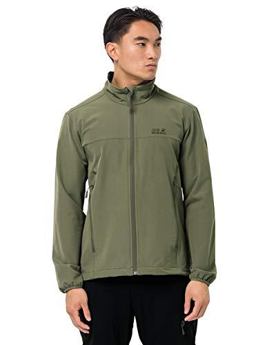 Jack Wolfskin Hombre Crestview Jacket Men Chaqueta Entallada, Light Moss, XX-Large