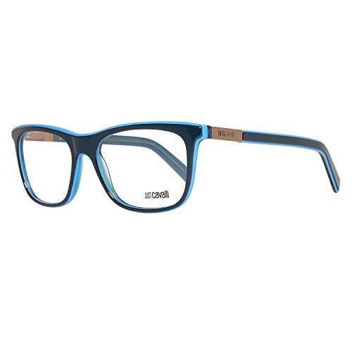 Just Cavalli JC0606 52092 Just Cavalli Brille JC0606 092 52 Rechteckig Brillengestelle 52, Blau