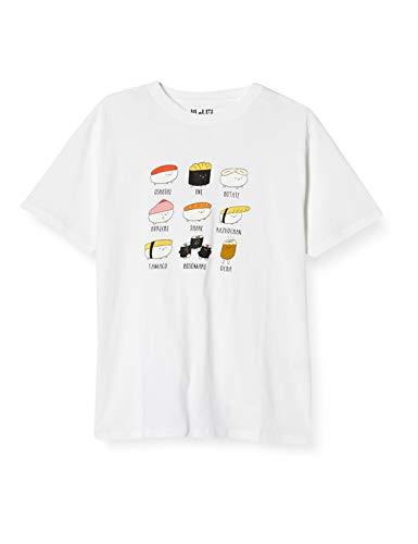 [オシュシダヨ] Tシャツ おしゅしだよ オシナガキ 22813575 ホワイト 日本 XL (日本サイズXL相当)