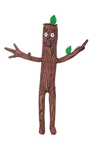 Aurora, Marchandise Officielle, 60573, Le Stick Man, 33cm, Peluche, Marron