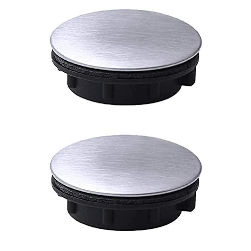 2 pezzi coperchio foro nastro lavello coperchio foro rubinetto in acciaio foro lavello piastra tappo...