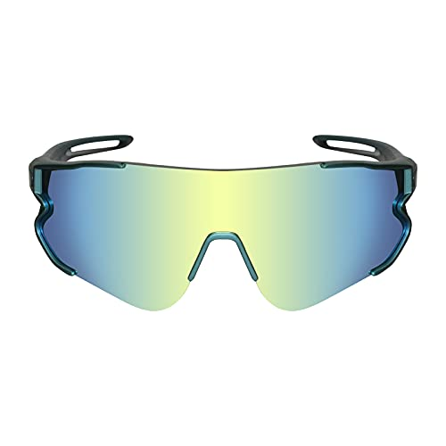 Funní Día Gafas de Ciclismo al aire libre, Lente Polarizada con Marco TR90,Gafas de sol Deportivas para Adultos Unisex FD548-1