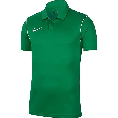 NIKE BV6879-302 Camiseta Deportiva de Polo para Hombre, Pine Green/White, Talla: L