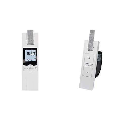 RolloTron Comfort DuoFern 1800-UW - Elektrischer Komfort Funk-Gurtwickler für Rollläden & Basis DuoFern 1200-UW Unterputz - Elektrischer Gurtwickler, Funk-Wickler für Smart-Home (HomePilot)