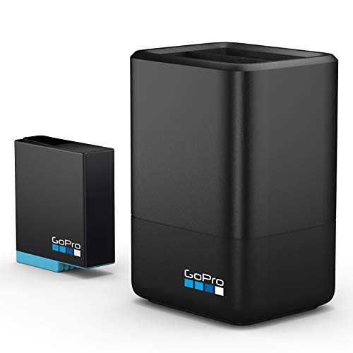 【GoPro公式】 GoPro デュアルバッテリーチャージャー for HERO8/7/6 ブラック | AJDBD-001-AS