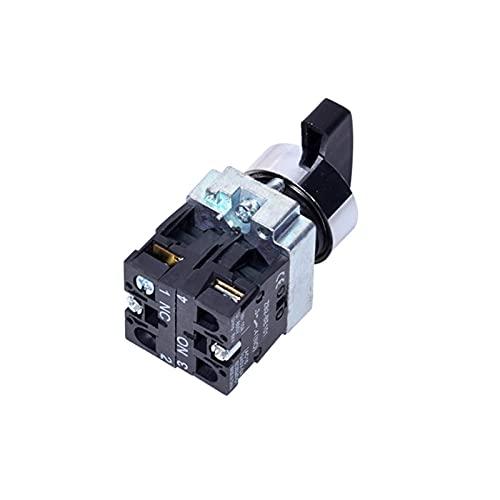 Interruptores de palanca Interruptor giratorio 2/3 Posición Seleccione el botón de bloqueo automático / de restablecimiento automático Interruptor de la perilla 1NO / 2NO / 1NO1NC BD21 BD33 BD22 BD25