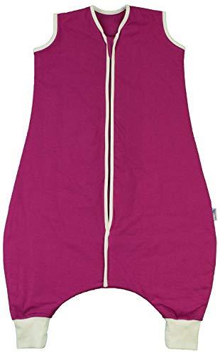 Schlummersack Schlafsack mit Füßen Ganzjahres-Variante für Erwachsene in 1.0 Tog - Beere - Größe M