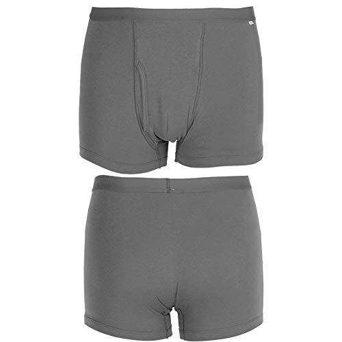 Inkontinenzunterwäsche für Männer , Verschiedene sortierte Herren mit normaler Saugfähigkeit Waschbare wiederverwendbare Inkontinenz-Boxershorts(XXL)