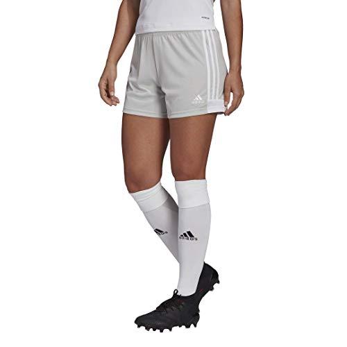adidas,womens,Tastigo 19 Shorts,Team Light Grey/White,X-Large