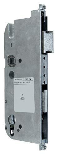 GU Secury Reparatur Schlosskasten Hauptschloss 6-29936-04-0-1 oder auch K-20046-JJ-0-1, Dornmaß: 65mm (62,5mm) / Entfernung: 92mm, incl. SN-TEC® Montagematerial & SN-TEC® Montageanleitung