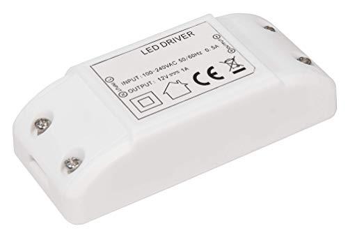 McShine 1452337 - Transformador electrónico (230 V a 12 V, fuente de...