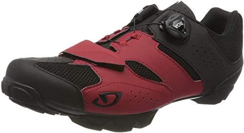 Giro Cylinder, Zapatos de Bicicleta de montaña Hombre, Multicolor (Dark Red/Black 5),...