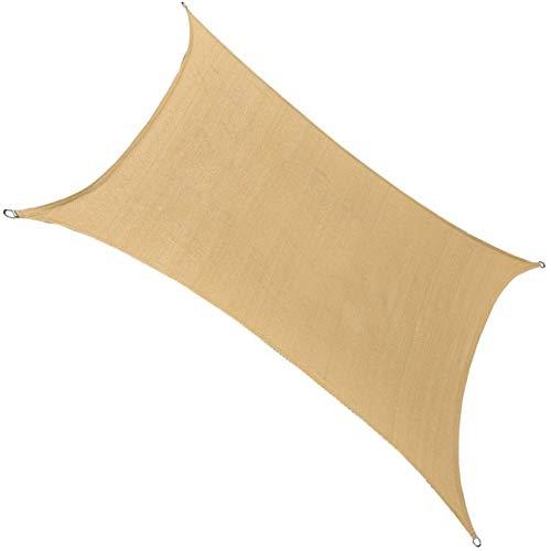 ZXD Toldo Vela De Sombra Impermeable A Prueba De Viento Protección UV Impermeable Resistente A La Intemperie para Patio Exteriores Jardín (Color : 9#, Size : 3x7m)