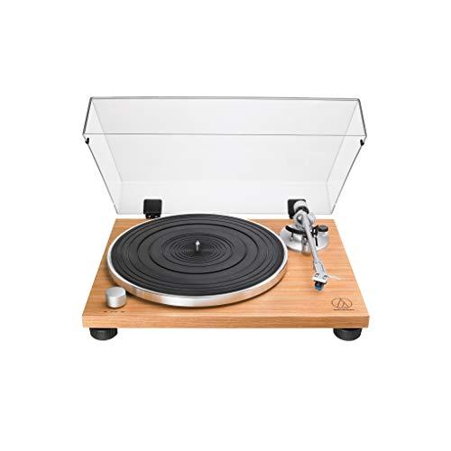 Audio-Technica AT-LPW30TK Fully Manual Belt-Drive Turntable, 2 Speed, Adjustable Dynamic Anti-Skate Control