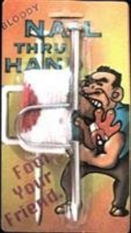 Nail Through Hand Illusion  Trick by D. Robbins